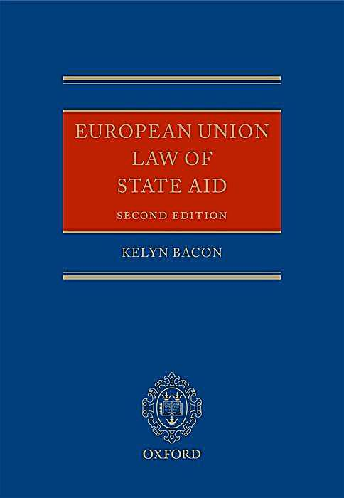eu state aid policy an analysis Eu competition policy and us antitrust: a comparative analysis  state aid —a unique  framework of the article for the comparative analysis of the eu.