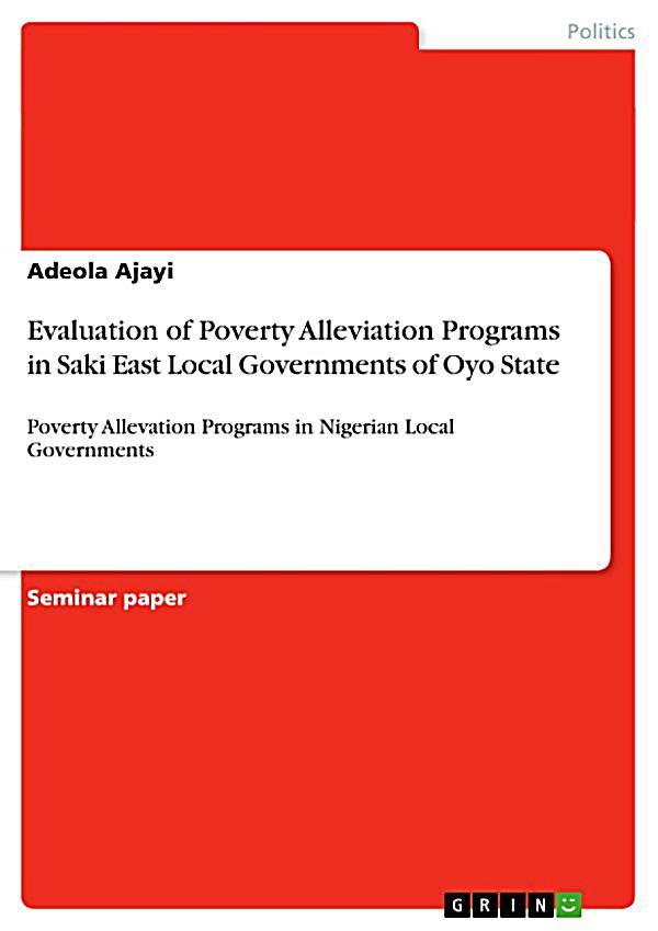 essay on poverty alleviation programmes
