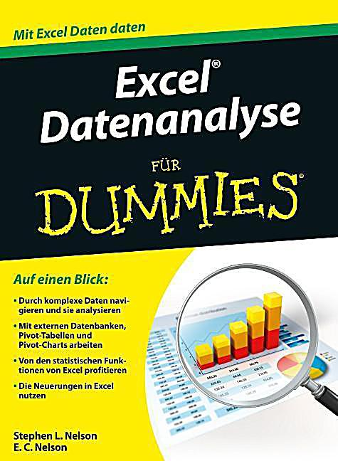 excel datenanalyse f r dummies buch portofrei bei. Black Bedroom Furniture Sets. Home Design Ideas