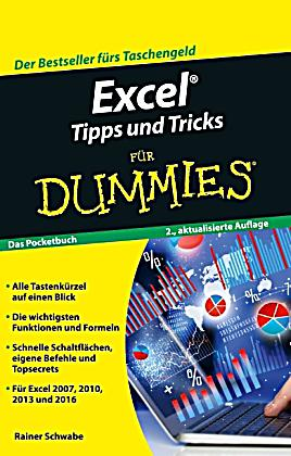 excel tipps und tricks f r dummies buch bei. Black Bedroom Furniture Sets. Home Design Ideas