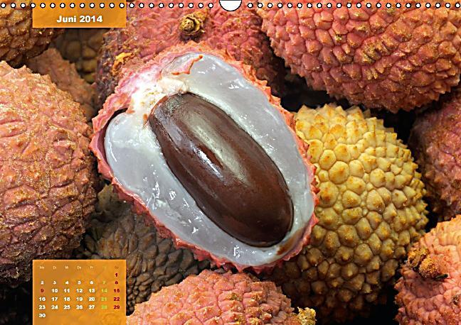 exotische fr chte aufgetischt wandkalender 2014 din a3 quer kalender bestellen. Black Bedroom Furniture Sets. Home Design Ideas