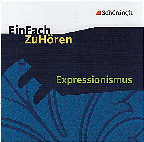 expressionismus 1 audio cd h rbuch bei bestellen. Black Bedroom Furniture Sets. Home Design Ideas