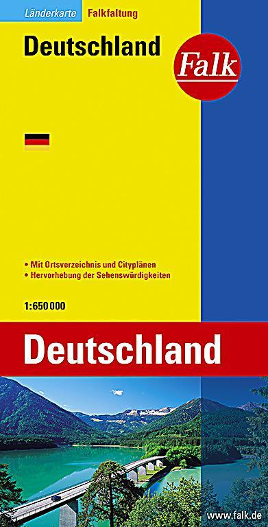 falk plan deutschland falkfaltung germany buch. Black Bedroom Furniture Sets. Home Design Ideas