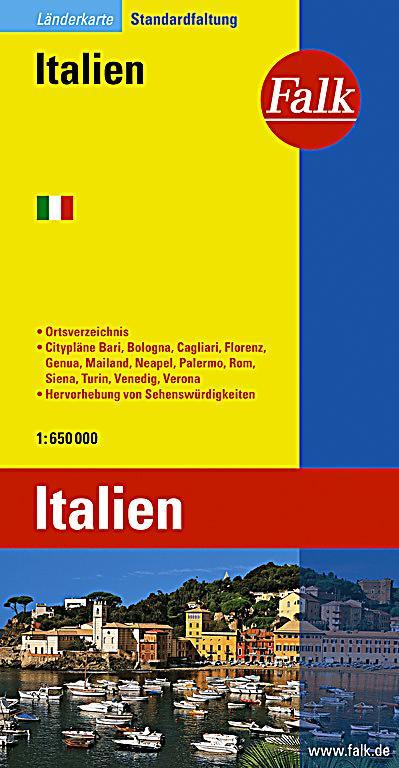 falk plan italien italia italy buch portofrei bei. Black Bedroom Furniture Sets. Home Design Ideas