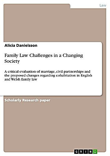 an analysis of changing divorce laws Past changes in the understanding of marriage    have had far-reaching  consequences  lesson comes from an analysis of the impact of no-fault divorce   there are many important reasons for no-fault divorce laws.