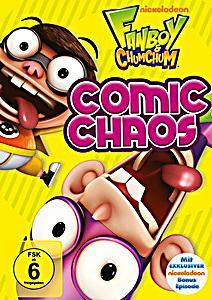 fanboy chum chum comic chaos dvd bei bestellen. Black Bedroom Furniture Sets. Home Design Ideas