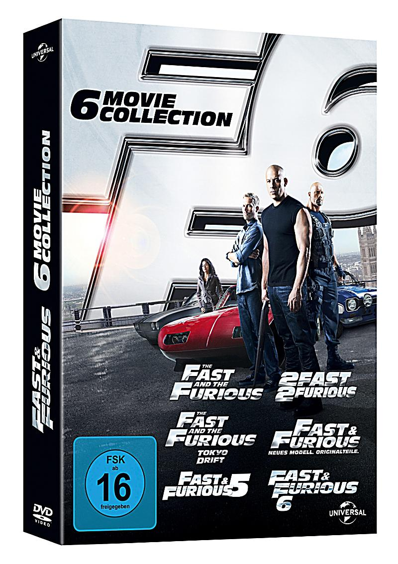 fast furious 1 6 box dvd jetzt bei online. Black Bedroom Furniture Sets. Home Design Ideas