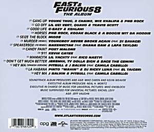 fast furious 8 the album cd bei bestellen. Black Bedroom Furniture Sets. Home Design Ideas
