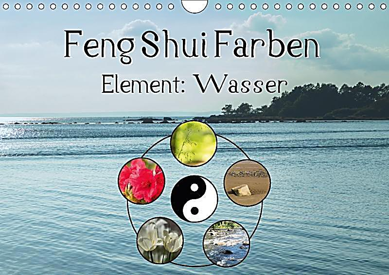 feng shui farben element wasser wandkalender 2018 din a4. Black Bedroom Furniture Sets. Home Design Ideas