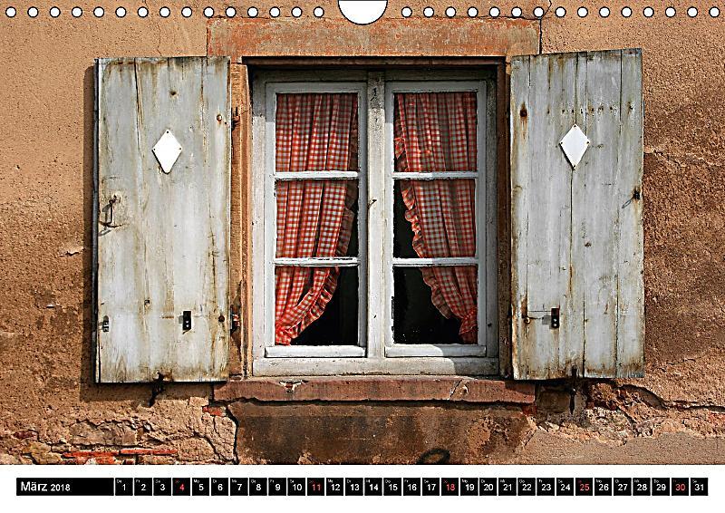 Fenster und t ren mit charakter wandkalender 2018 din a4 for Fenster quer