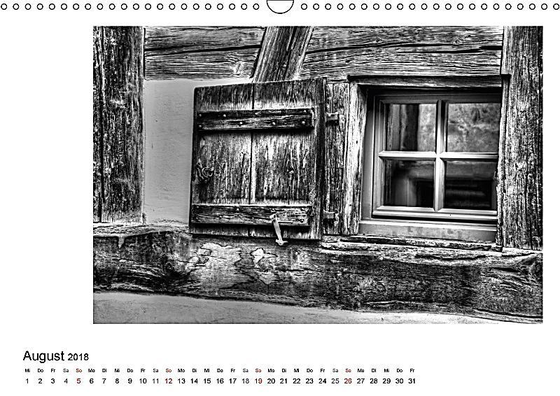 Fenster und t ren wandkalender 2018 din a3 quer kalender for Fenster quer