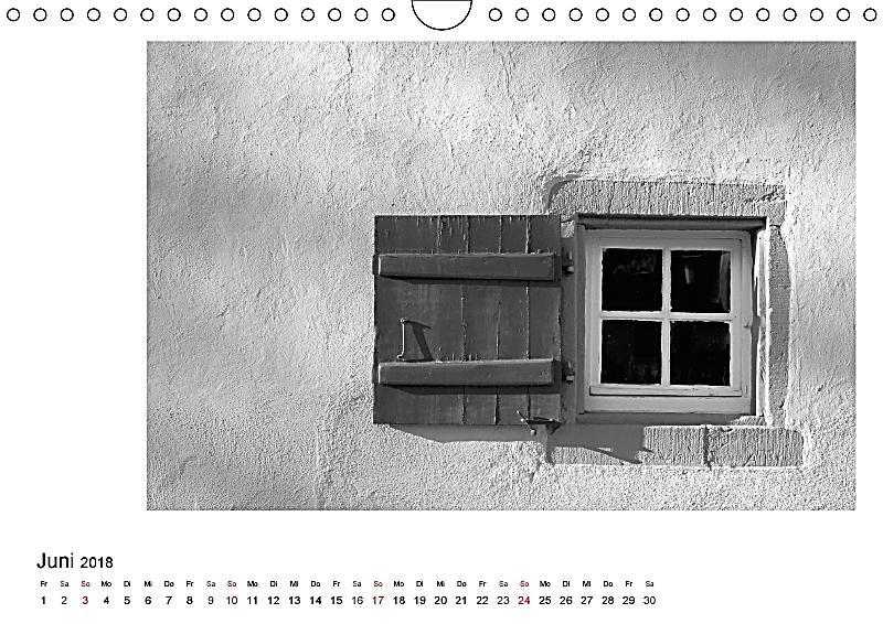Fenster und t ren wandkalender 2018 din a4 quer kalender for Fenster quer