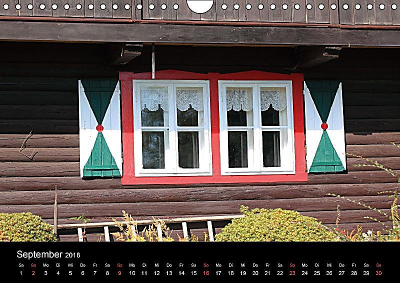 Fenster wandkalender 2018 din a4 quer kalender bei for Fenster quer