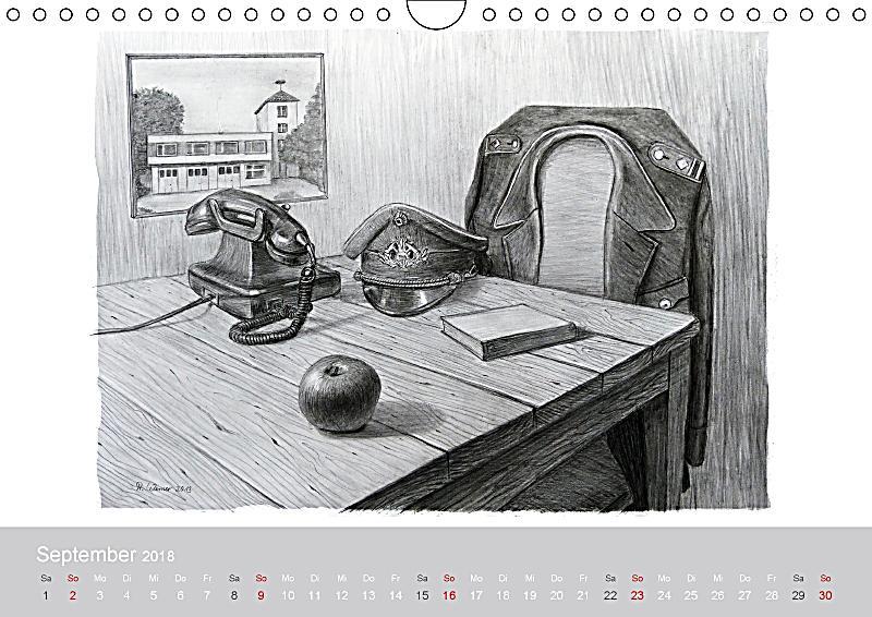 feuerwehr kalender 2018 wandkalender 2018 din a4 quer. Black Bedroom Furniture Sets. Home Design Ideas
