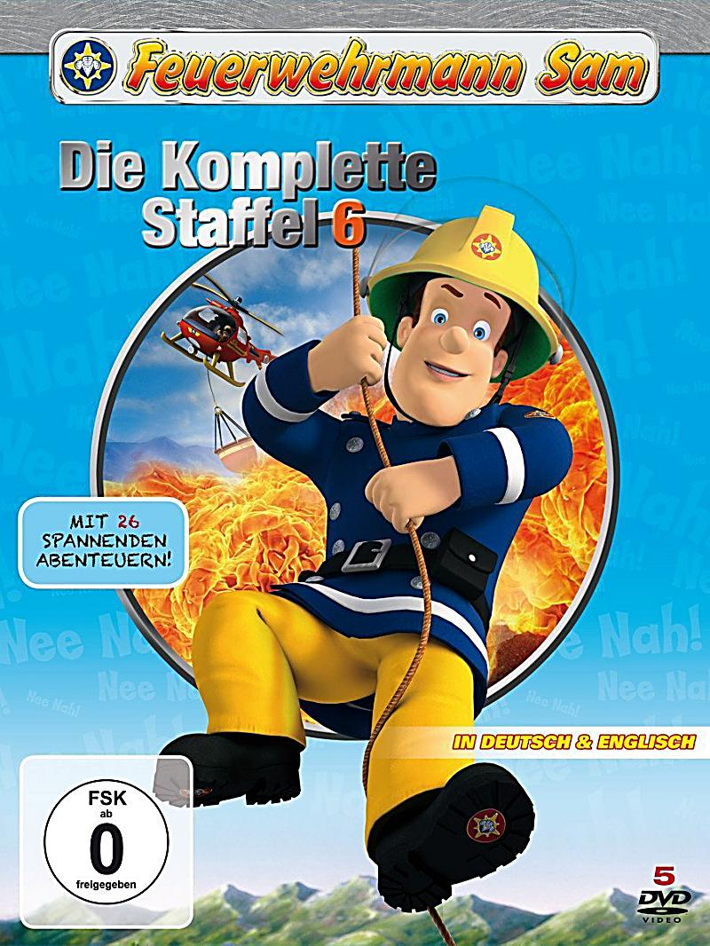 feuerwehrmann sam die komplette staffel 6 dvd. Black Bedroom Furniture Sets. Home Design Ideas