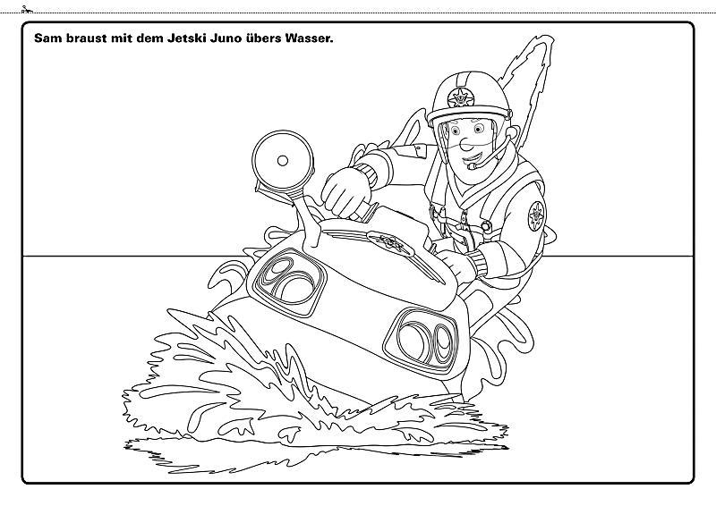 Schön Feuerwehrmann Sam Jupiter Ausmalbilder Bilder - Framing ...