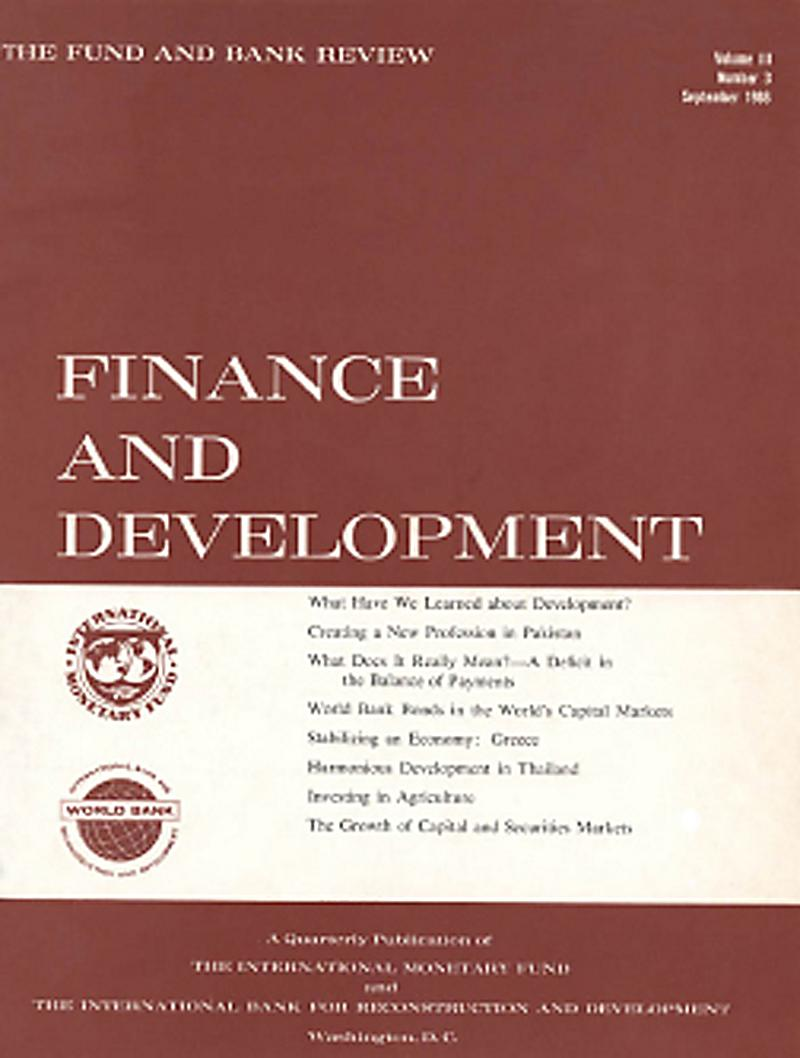 finance and development What should policymakers do to improve the enabling environment for trade and  finance to better contribute to sustainable development.