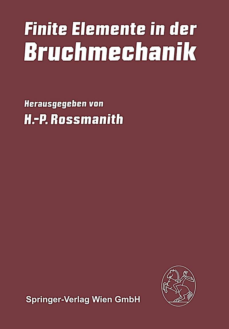 Finite elemente in der bruchmechanik buch portofrei for Finite elemente in der baustatik