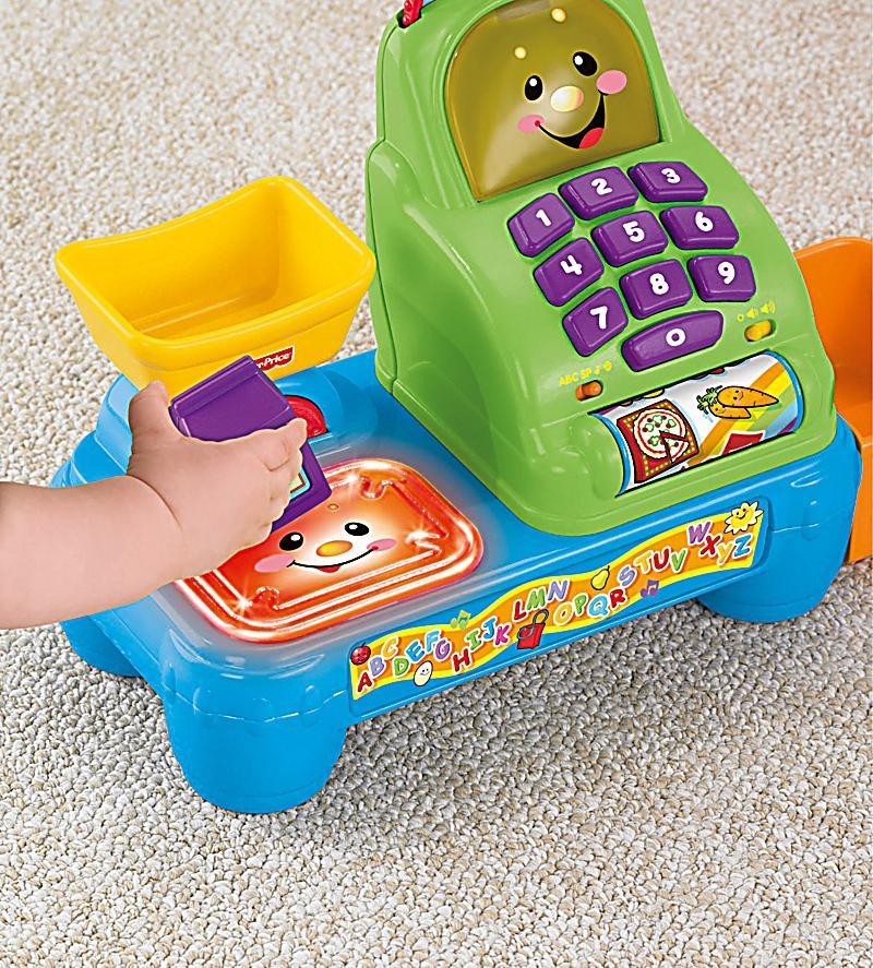 Fisher price lernspass kasse babyspielzeug weltbild