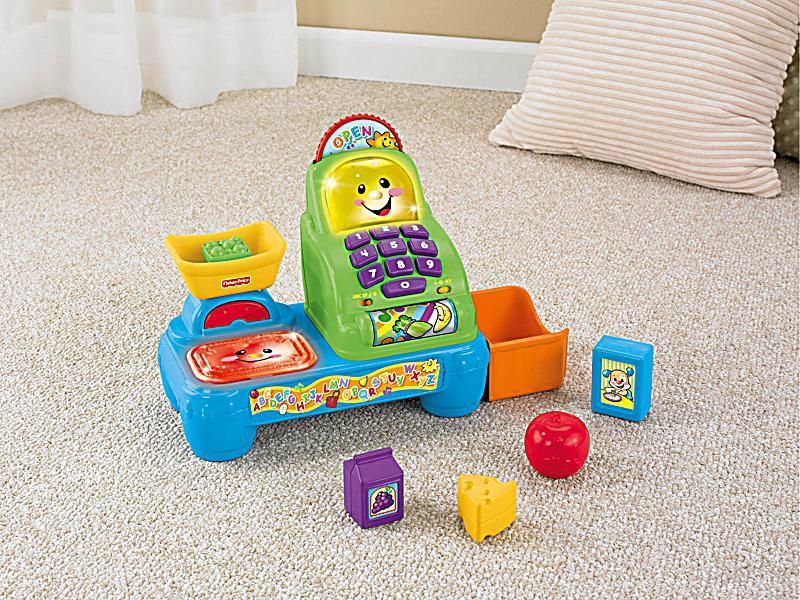 Fisher price lernspaß kasse babyspielzeug weltbild