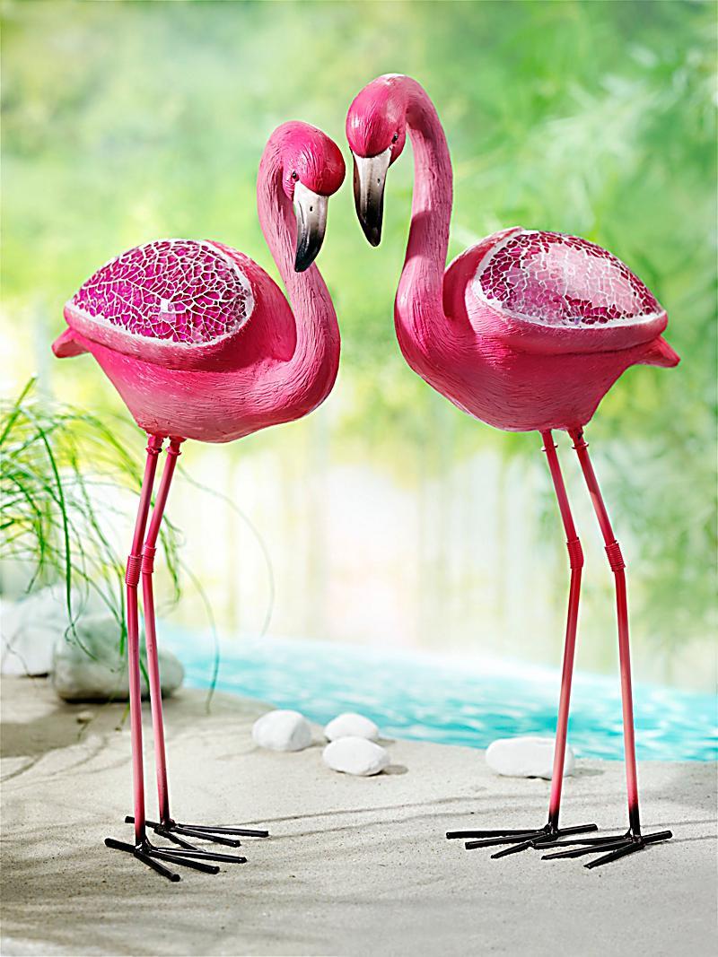 flamingo figuren 2er set jetzt bei bestellen. Black Bedroom Furniture Sets. Home Design Ideas