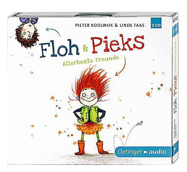 Floh & Pieks - Allerbeste Freunde, 2 Audio-CDs - ndete in der Klasse, die dem fiesen Arjan die Stirn bietet. Auß