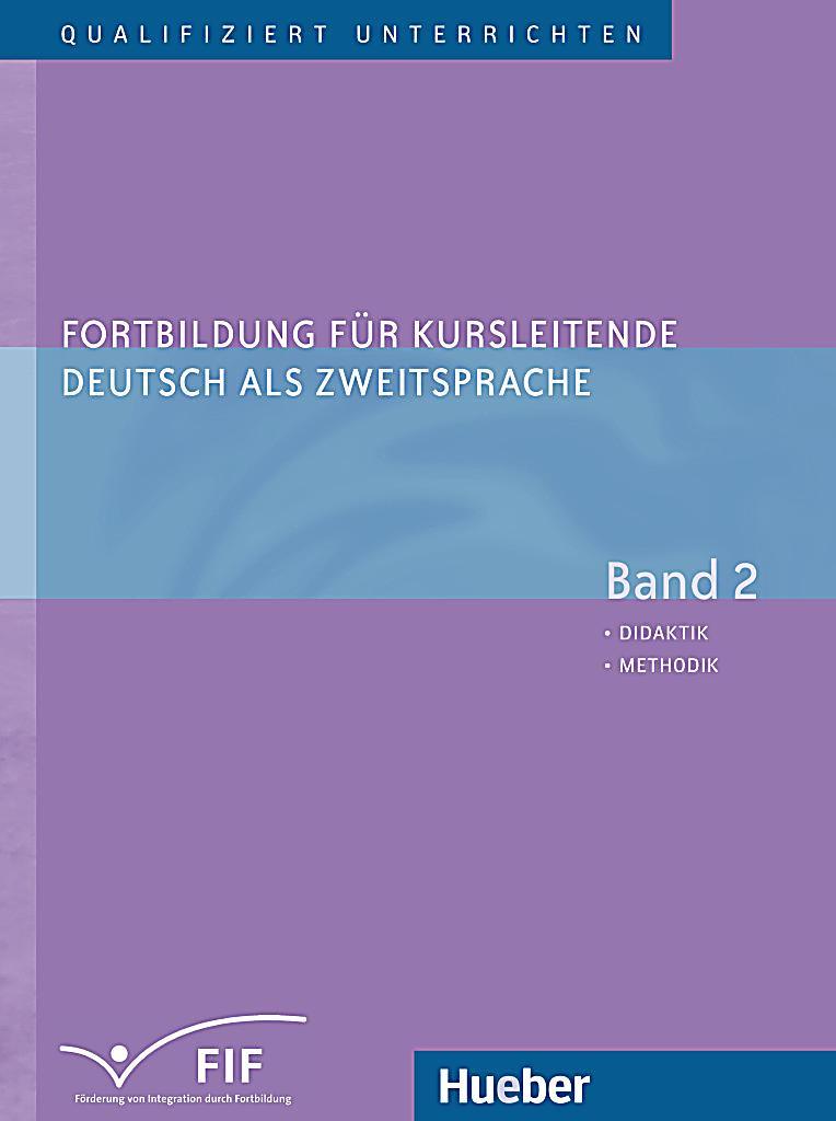 fortbildung f252r kursleitende deutsch als zweitsprache bd