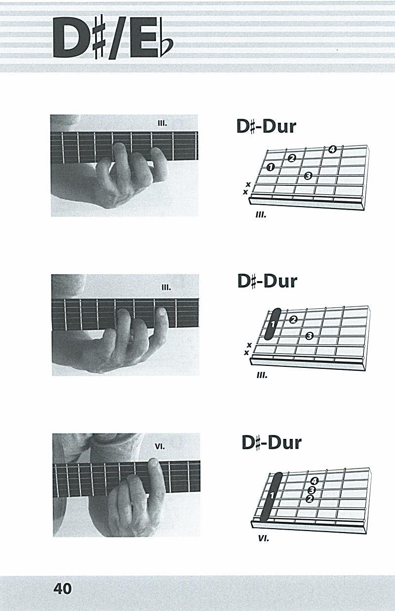 Foto-Grifftabelle für Gitarre Buch bei Weltbild.de bestellen