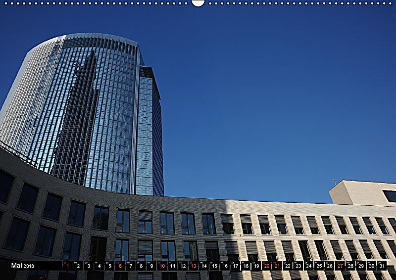Frankfurt am main architektur wandkalender 2018 din a2 for Architektur frankfurt