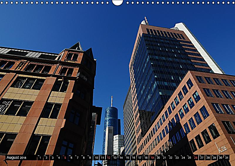 Frankfurt am main architektur wandkalender 2018 din a3 for Architektur frankfurt