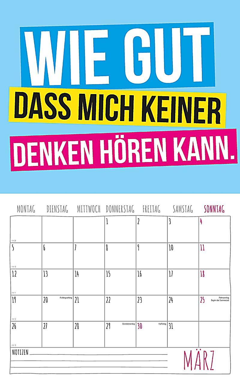 ... Freche Sprüche Kalender 2018 + 2 Blechschilder   Produktdetailbild 3 ...