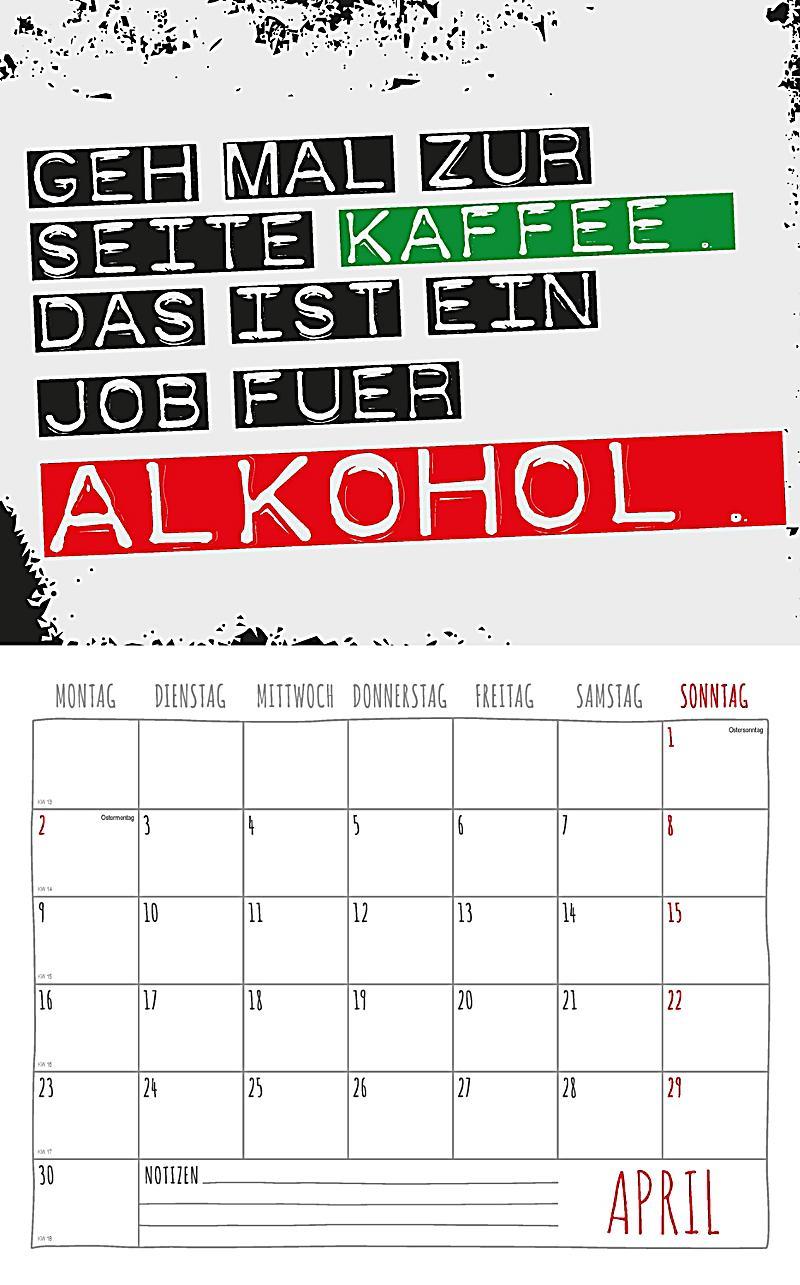 Freche Spruche Kalender 2018 2 Blechschilder Kalender Bestellen
