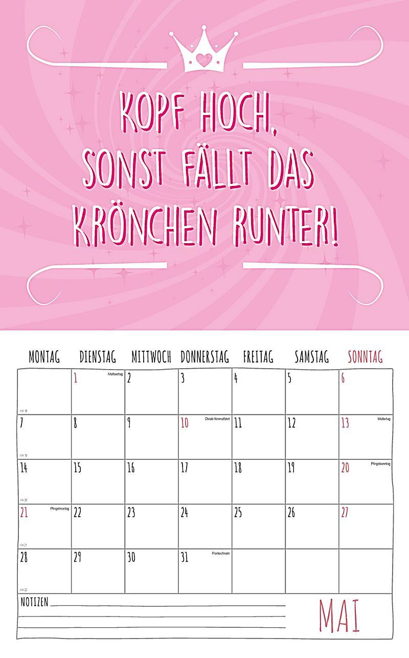 ... Freche Sprüche Kalender 2018 + 2 Blechschilder   Produktdetailbild 5 ...