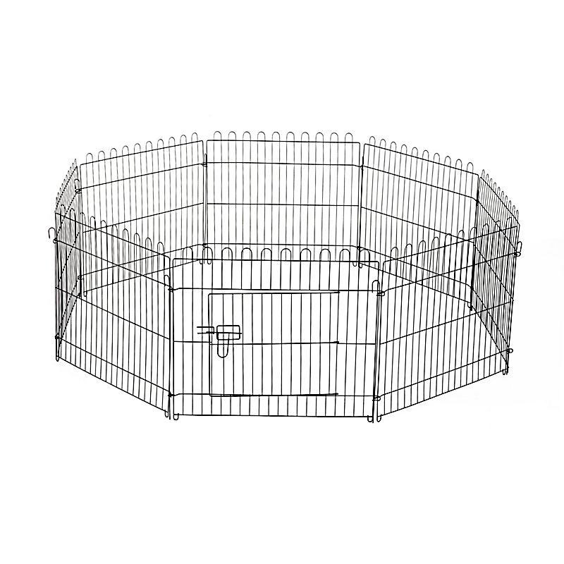 freilaufgehege f r hasen und kaninchen farbe schwarz gr e 71 x 61 cm bxh. Black Bedroom Furniture Sets. Home Design Ideas