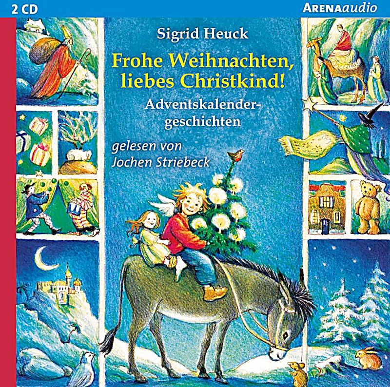 frohe weihnachten liebes christkind 2 audio cds h rbuch. Black Bedroom Furniture Sets. Home Design Ideas