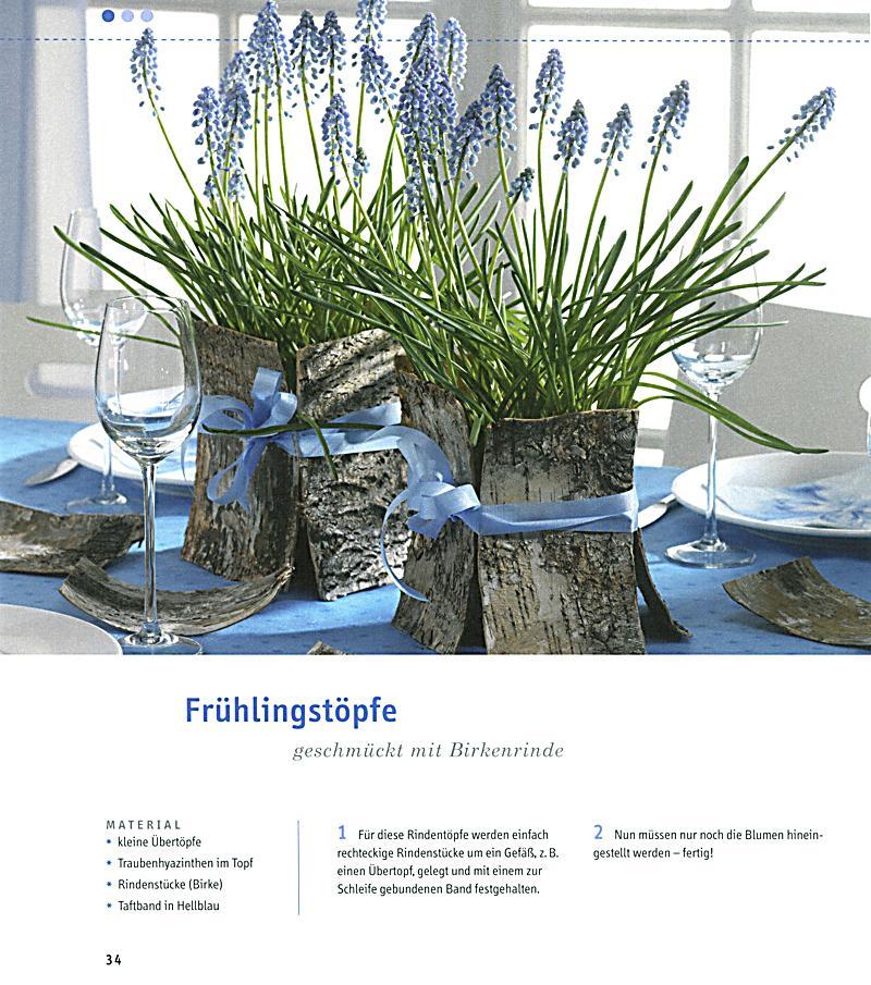 Frühlingsdeko frühlingsdeko mit naturmaterialien weltbild ausgabe bestellen