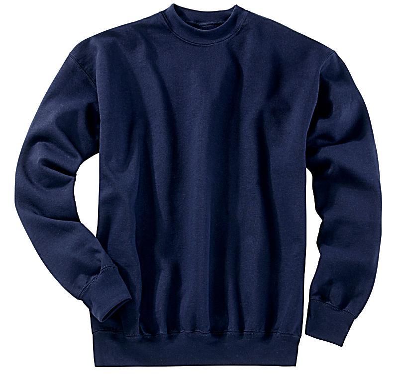 Fruit of the Loom Sweatshirt, dunkelblau (Größe: XXL)