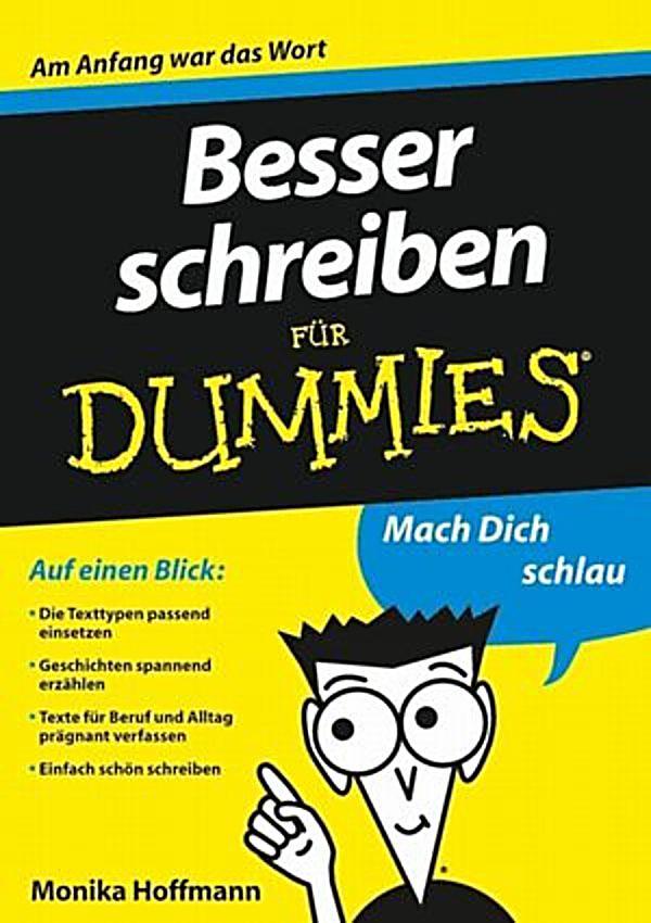 Briefe Schreiben Für Dummies : Für dummies besser schreiben ebook