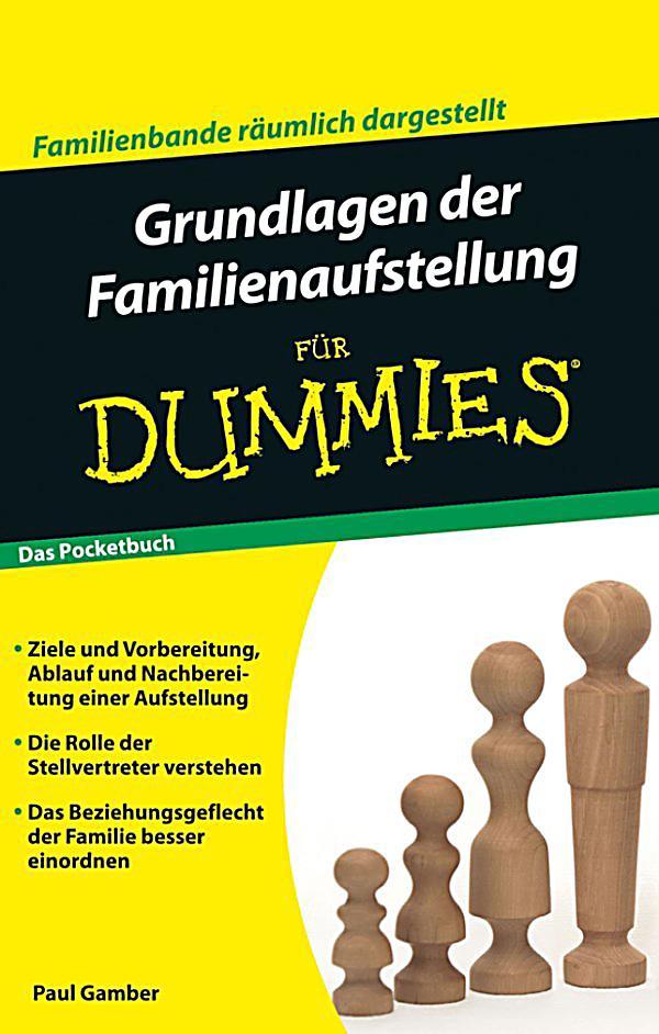 f r dummies grundlagen der familienaufstellung f r. Black Bedroom Furniture Sets. Home Design Ideas