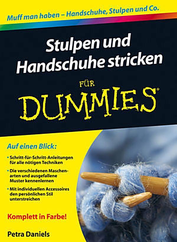 f r dummies stulpen und handschuhe stricken f r dummies ebook. Black Bedroom Furniture Sets. Home Design Ideas