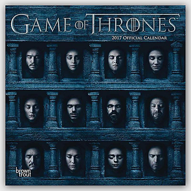 game of thrones 2017 kalender g nstig bei bestellen. Black Bedroom Furniture Sets. Home Design Ideas