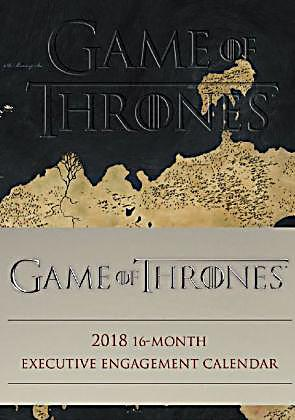 game of thrones 2018 kalender g nstig bei. Black Bedroom Furniture Sets. Home Design Ideas