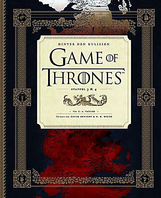 Game of Thrones, Hinter den Kulissen, Staffel 3 4 Buch portofrei