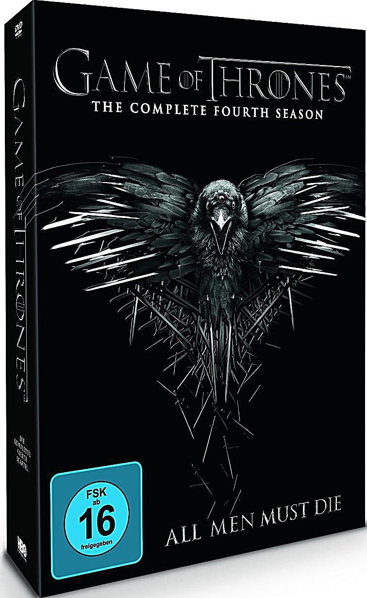 dvd preisvergleich game of thrones die komplette 4. Black Bedroom Furniture Sets. Home Design Ideas
