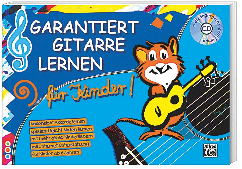 garantiert gitarre lernen f r kinder mit audio cd buch portofrei. Black Bedroom Furniture Sets. Home Design Ideas