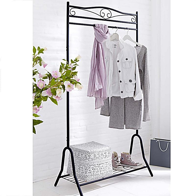 garderobe air farbe schwarz jetzt bei bestellen. Black Bedroom Furniture Sets. Home Design Ideas