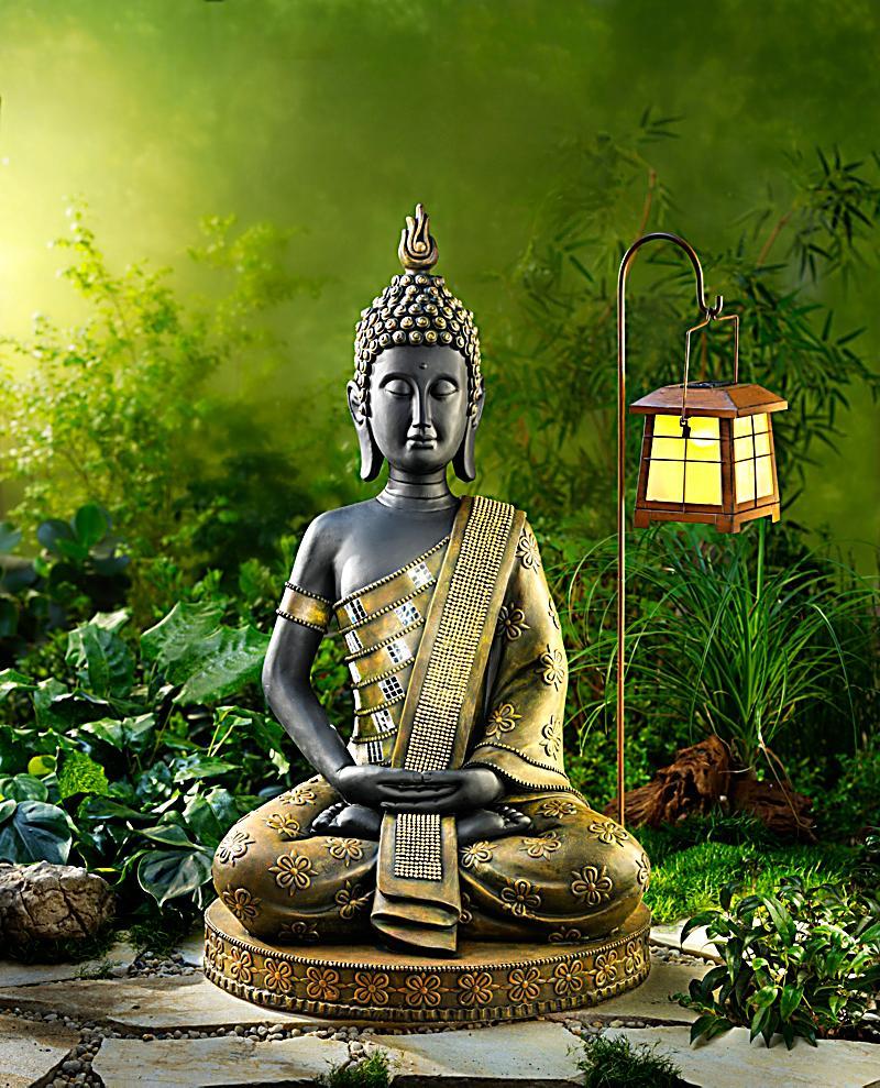 Garten buddha 80 cm jetzt bei bestellen - Buddha figur garten ...