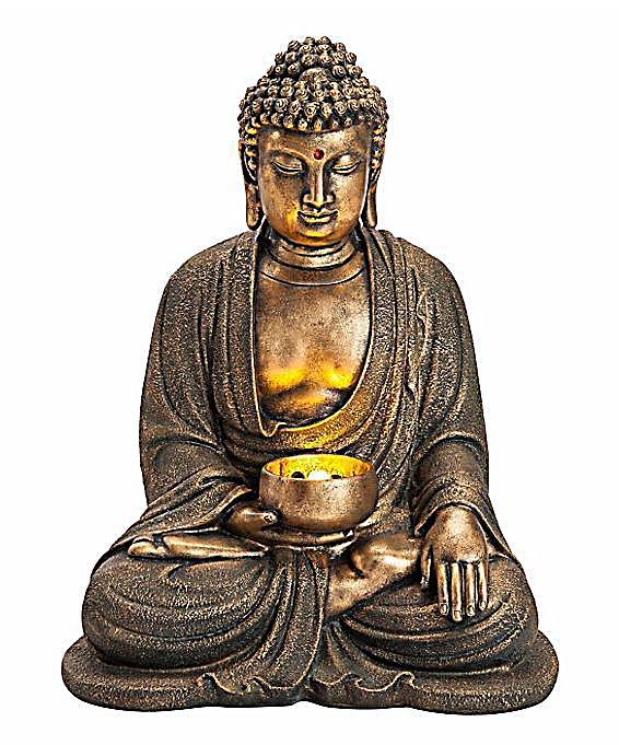 Gartenbrunnen buddha mit leds jetzt bei bestellen for Buddha bestellen