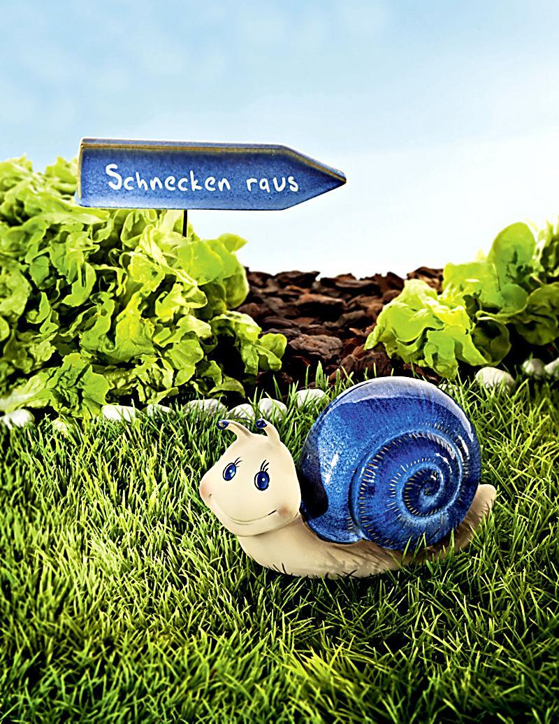 Gartendeko schnecke 2 teiliges set bestellen for Sale gartendeko