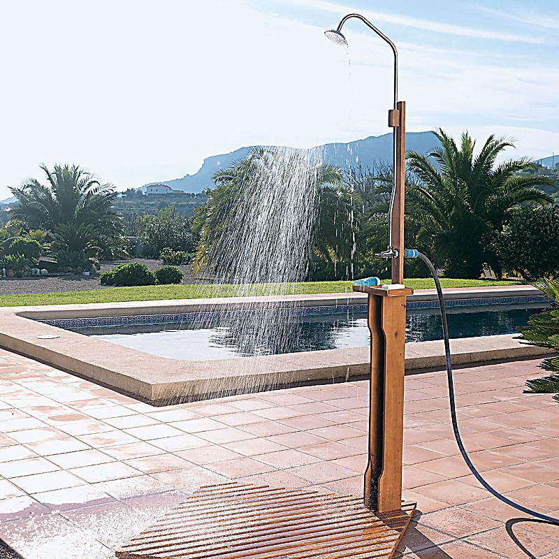 Seifenablage Dusche Edelstahl : Gartendusche New Shower jetzt bei weltbild.de bestellen